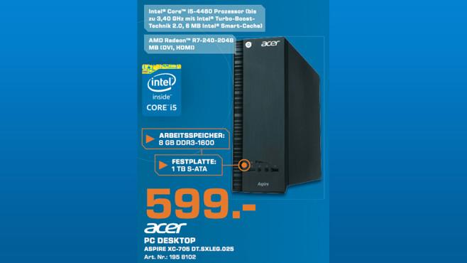 Acer Aspire XC-705 ©Saturn