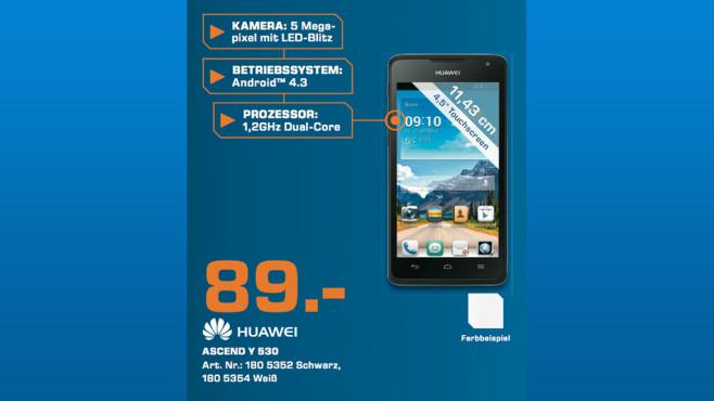 Huawei Ascend Y530 ©Saturn