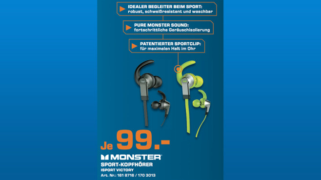 Monster iSport Victory © Saturn