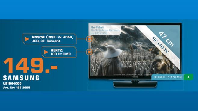 Samsung UE19H4000 ©Saturn