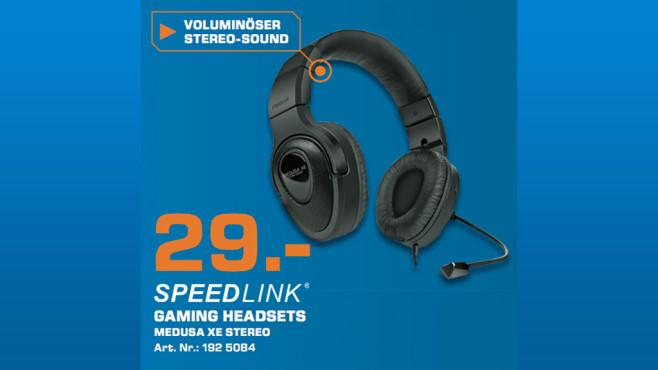 Speedlink MEDUSA XE Stereo ©Saturn