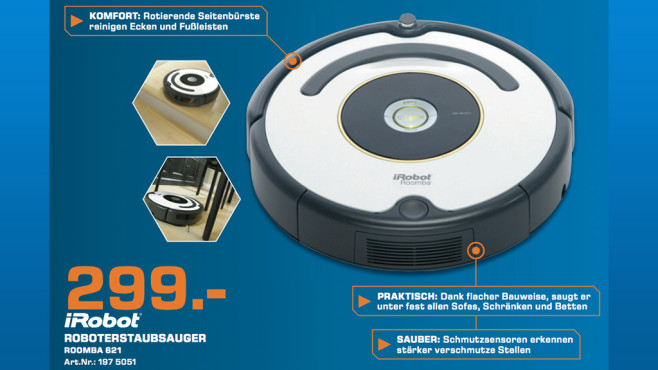 iRobot Roomba 620 © Saturn