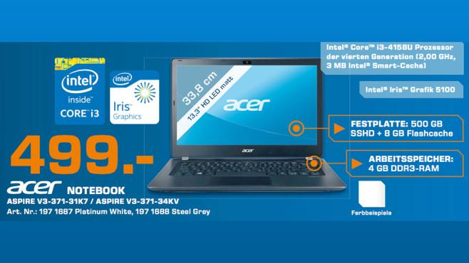 Acer Aspire V3-371-32HH ©Saturn