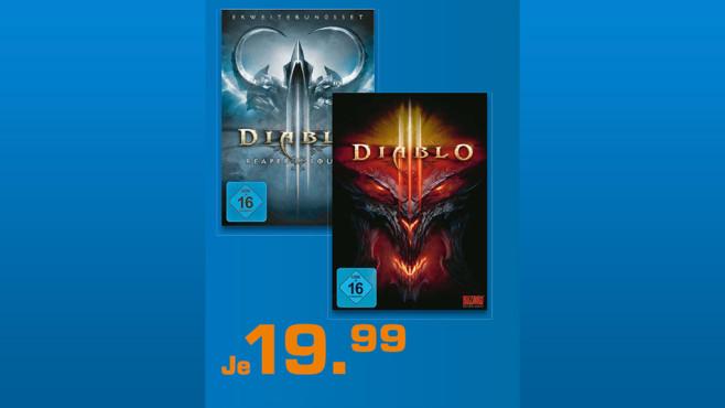 Diablo 3 und Diablo 3: Reaper of Souls (Add-On) ©Saturn