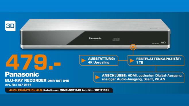 Panasonic DMR-BST845 ©Saturn
