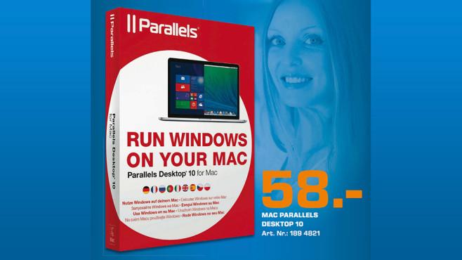 Parallels Desktop 10 (Mac) ©Saturn