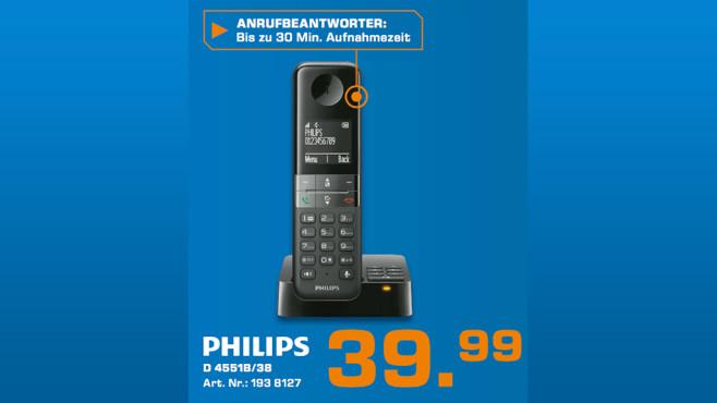 Philips D4551B/38 ©Saturn