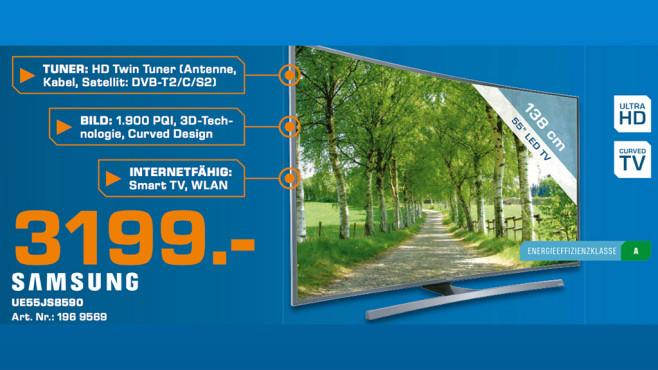 Samsung UE55JS8590 ©Saturn