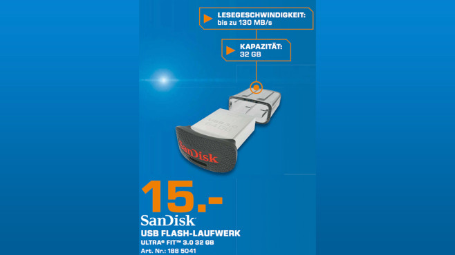 Sandisk Ultra Fit 32GB ©Saturn