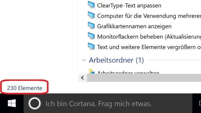 Windows-10-GodMode beweist: Die Systemsteuerung kann immer weniger ©COMPUTER BILD