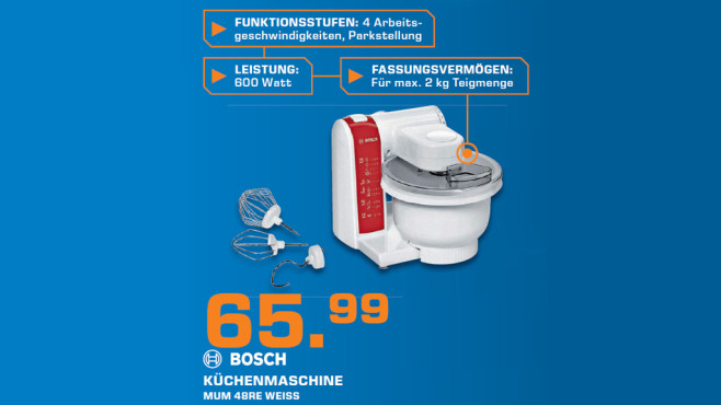 Bosch MUM48RE © Saturn