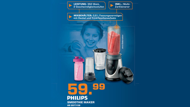 Philips HR 2877/08 © Saturn