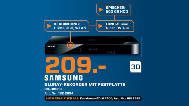 Samsung BD-H8509S ©Saturn