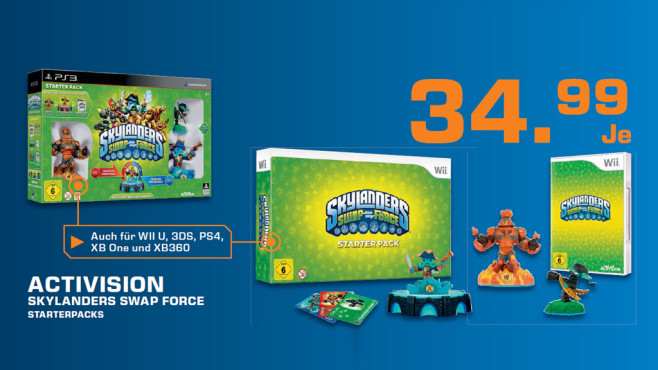 Skylanders: Swap Force - Starter Pack (PS4) © Saturn