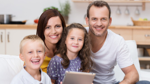 Medienkonsum im Familienalltag ©contrastwerkstatt – Fotolia.com
