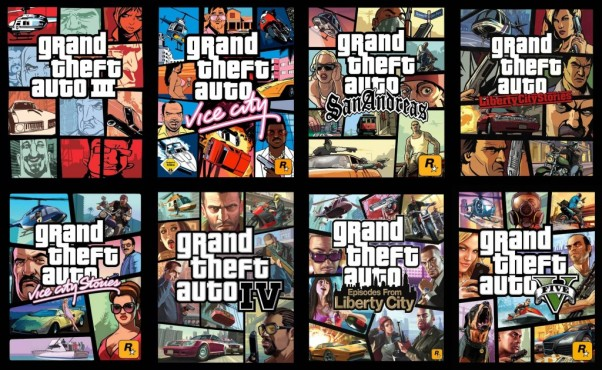 GTA 5: Cover © Rockstar Games