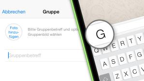 WhatsApp-Gruppen: Die 10 besten Chat-Funktionen Mit WhatsApp chatten Sie nicht nur mit einzelnen Personen, sondern auch ganzen Gruppen. COMPUTER BILD zeigt, wie es geht! ©COMPUTER BILD