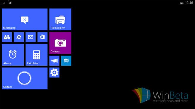 Inoffizielle Bilder von Windows 10 für Tablets ©WinBeta.com