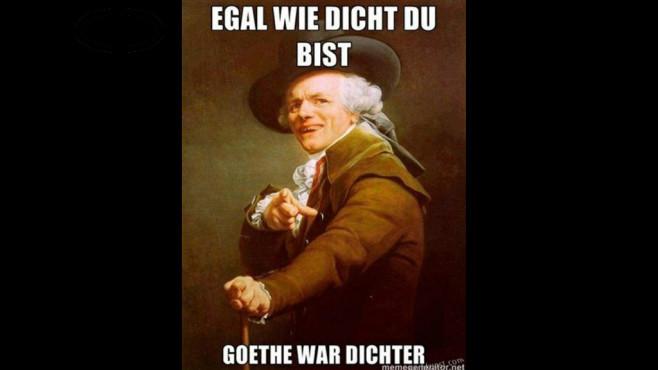 Goethe war Dichter ©lachkunst.com, Joseph Ducreux