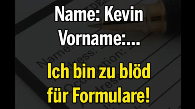Noch ein Formular bitte! ©echtlustig.com