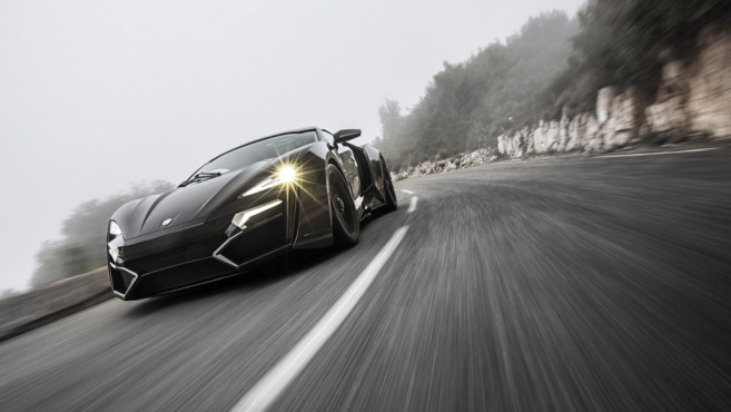 W Motors Lykan Hypersport © W Motors