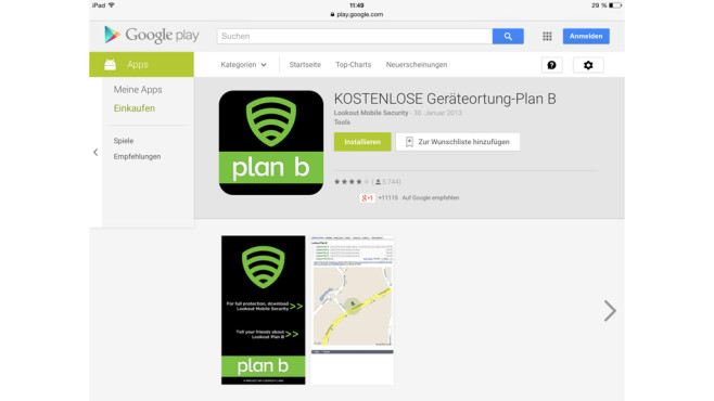 PLan B © Lookout Mobile Security