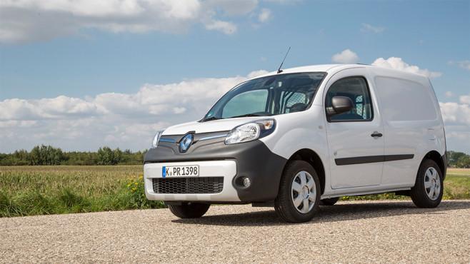 Renault Kangoo Z.E. ©Renault