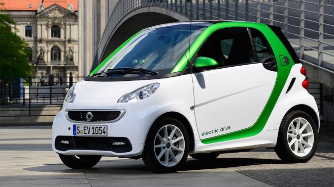 Smart Electric Drive ©Daimler