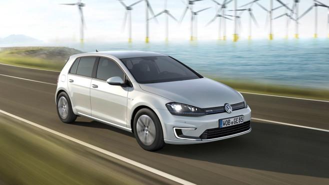 VW e-Golf ©Volkswagen