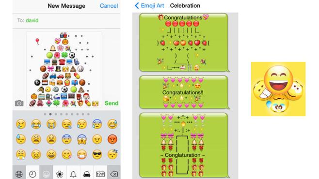Emoticons & Extra Emoji Keyboard ©Chen Shun