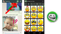 Smileys and Memes for Chat für Android © Androidsx