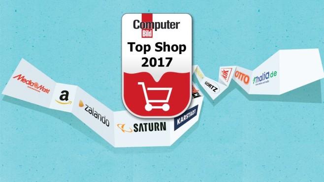 Die Top-Shops 2017 ©COMPUTER BILD