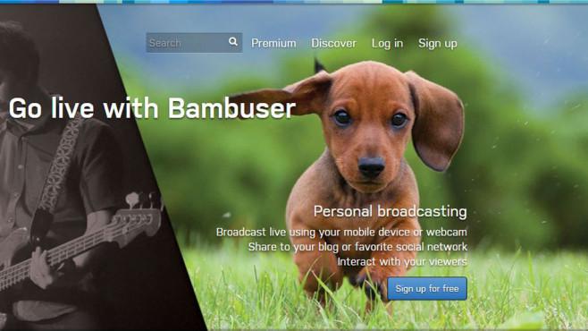Bambuser ©Screenshot Bambuser