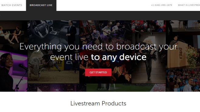 Livestream.com © Screenshot Livestream
