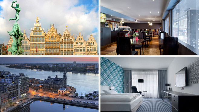 Antwerpen, Belgien – Antwerp City Center Hotel © Secret Escapes