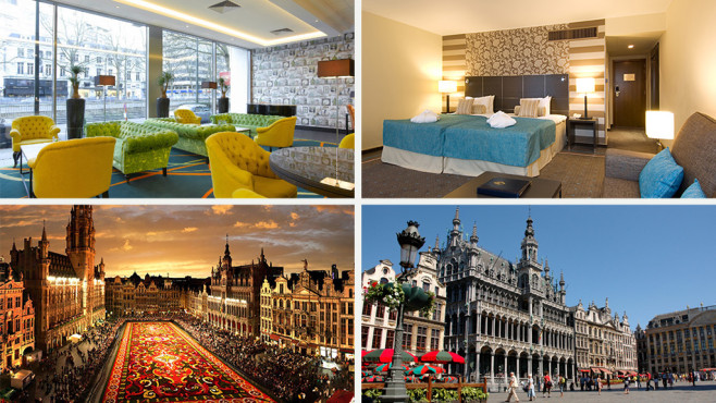 Brüssel, Belgien – Thon Hotel Bristol Stephanie © Secret Escapes