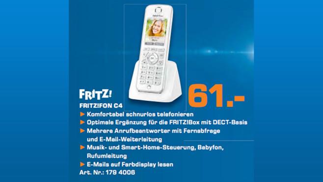 AVM FRITZ!Fon C4 ©Saturn