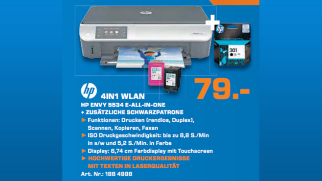 HP Envy 5534 © Saturn