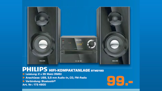 Philips BTM2180 © Saturn