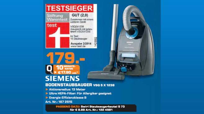 Siemens VSQ5X1238 Q5.0 ©Saturn