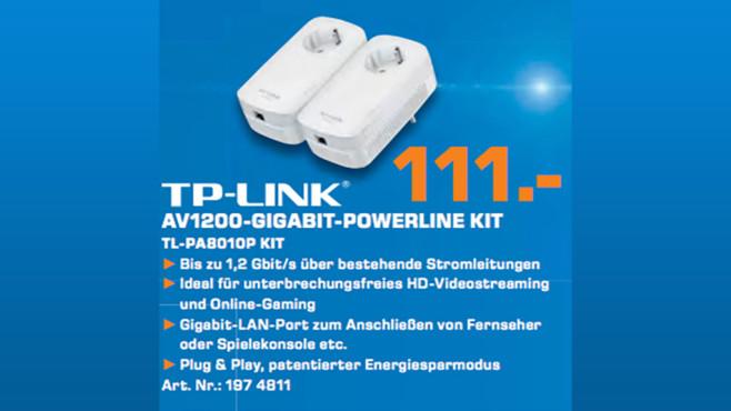 TP-LINK TL-PA8010P - Starter Kit ©Saturn