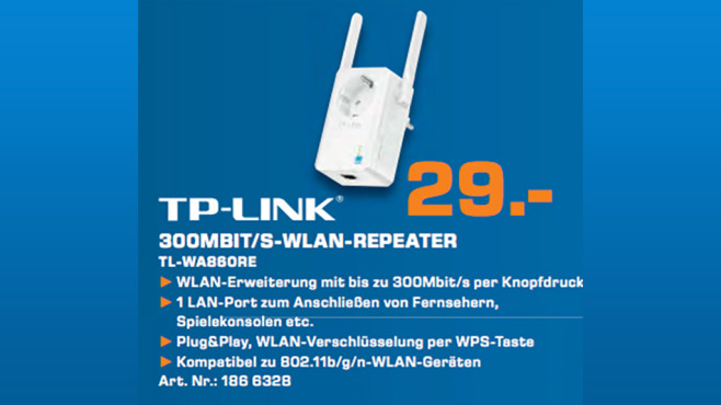 TP-LINK TL-WA860RE © Saturn