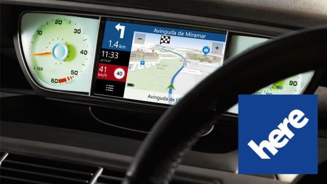 Audi, BMW und Daimler kaufen Nokia Here ©here, Peter Dazeley/gettyimages