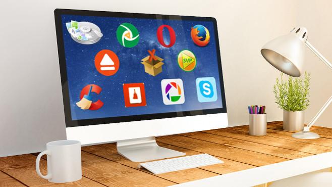 Top-Tools ©georgejmclittle - Fotolia.com, Apple, Google, Opera, Mozilla, Cceaner