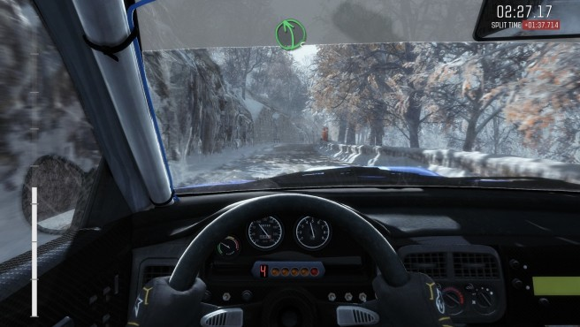 Dirt Rally: Cockpit-Perspektive © Codemasters