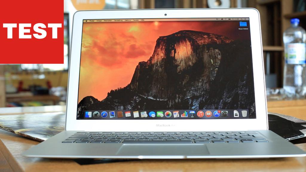 das neue apple macbook air im test top oder flop. Black Bedroom Furniture Sets. Home Design Ideas
