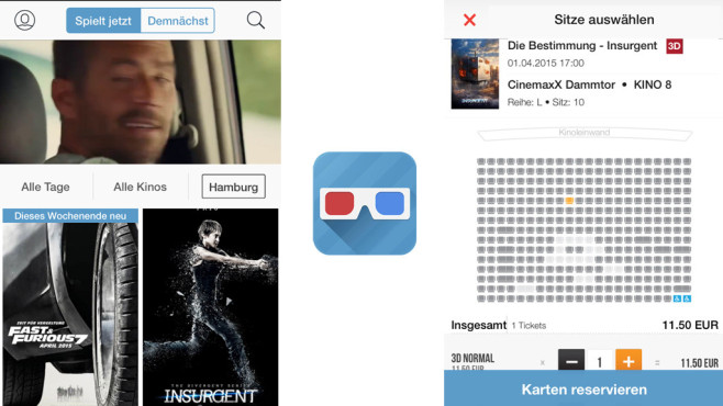 Super Popcorn – Kinotickets & Spielzeiten © MT Mobile Ticketing GmbH