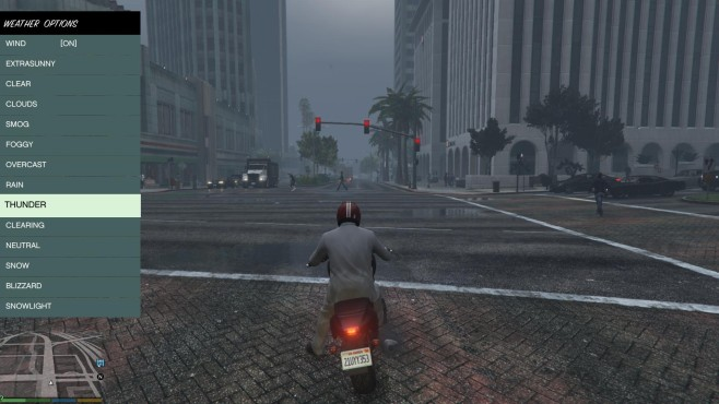 GTA 5: Script Hook V-Trainer © Rockstar Games