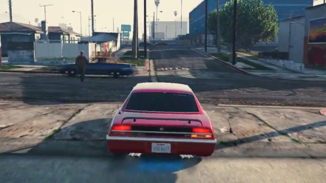 GTA 5: Blinker Mod © Rockstar Games