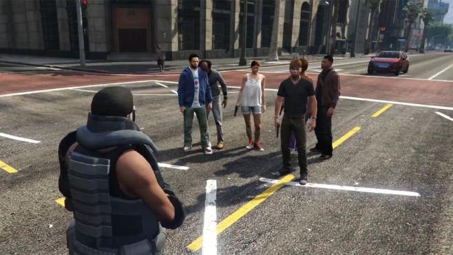 GTA 5: Bodyguard Mod ©Rockstar Games